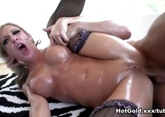 Incredible pornstars Mr. Pete, Steve Holmes, Amy Brooke in Hottest Stockings, Facial adult clip