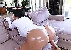 Busty hottie August Taylor rides a hard dick like there is no tomorrow