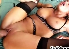 Supreme buxomy asian Mia Lelani in hardcore porn video
