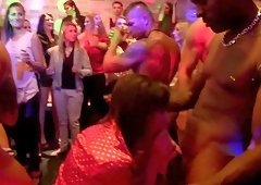 The heat is unbearable for these sexy MILFS as they get their dance on at the club
