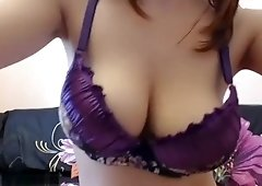 Big Tits Are Restrained In A Bra