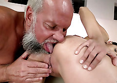 Some good pussy fingering and licking for Bunny Love performed by gaffer