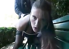 German First-Timer Duo With Wifey In Park - PornGem
