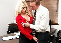 Office Meeting Turns Into A Hot Mating