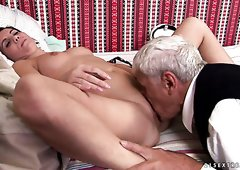 Secrets Married video grandpa licks my cunt any