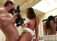 Adriana Luna is making naughty videos
