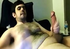 Bulky cash montague jacking off
